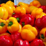 Fresh - and bright - produce