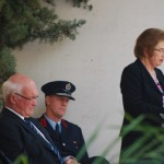 Fire Commission chair Dame Margaret Bazley addresses the memorial day