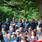 Firefighters and Tamahere locals attend the memorial event