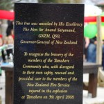 'Thank you' Tamahere Memorial Day