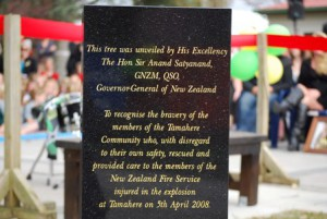 &#039;Thank you&#039; Tamahere Memorial Day