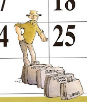 A scene from a Jock calendar