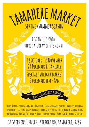 Tamahere Market summer 2014