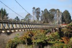 The impressive Allan Turner Walkway Bridge