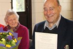 Christine and Rex Pickering, honoured for their community contribution
