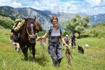 Venetia Sherson pictured in the Life & Leisure story that won her travel writer of the year.