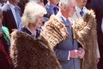 Camilla, Duchess of Cornwall, and Prince Charles arrive at Turangawaewae (photo: Governor General's office)