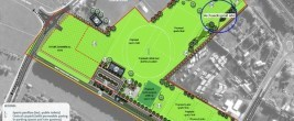 A concept plan of the Tamahere sports and recreation grounds (click to enlarge).