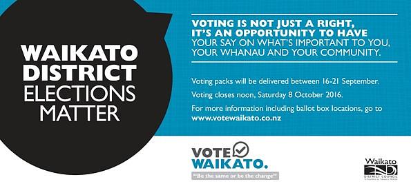 Vote Waikato