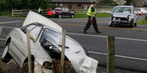 A Cherry Ln-SH1 crash in 2011 that put an elderly woman in hospital