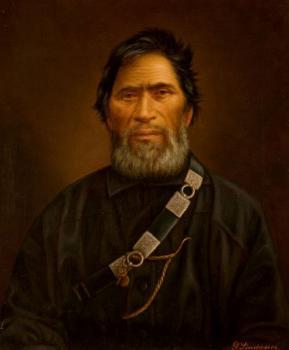 Wiremu Tamihana, retrospectively named New Zealander of the Year 1863