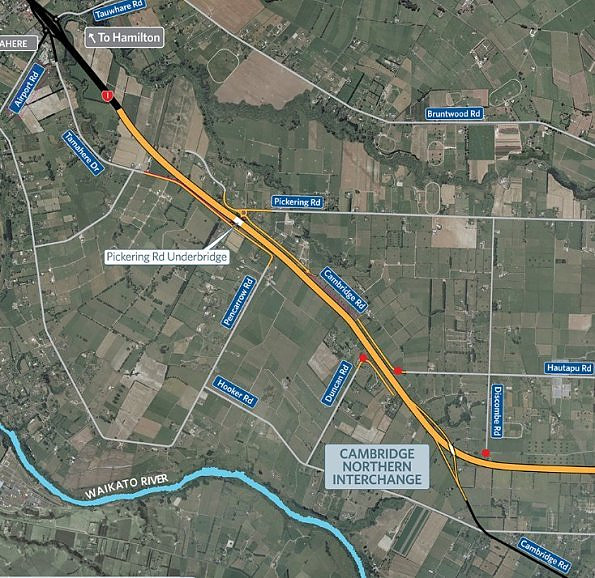 Duncan Rd access to SH1 will close from Thursday