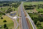 Northern interchange Waikato Expressway Cambridge section