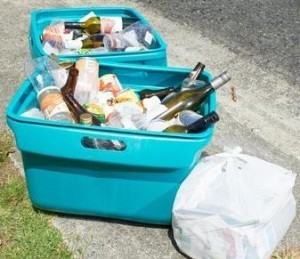 More recycling, less waste is being encouraged