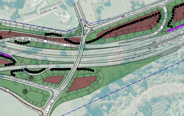 The latest design of spaghetti junction, centered on Cherry Lane, can be viewed at Wednesday's information day