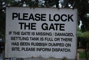 Truckies are advised to report rubbish to Regal's dispatcher