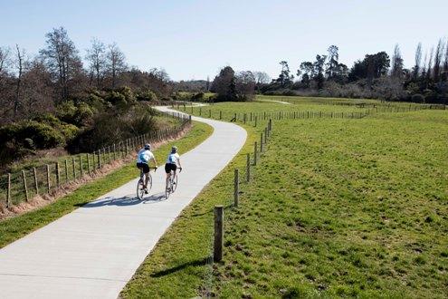 Bike trail link to start - Tamahere Forum