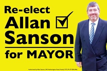 Re-elect Allan Sanson for Mayor