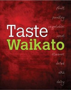 Taste Waikato cookbook
