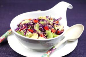 Kiwifruit couscous salad