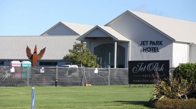 Airport hotel becomes isolation facility
