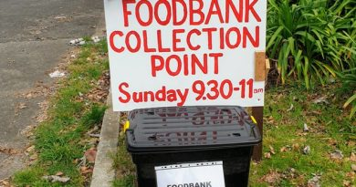 Foodbank collection point